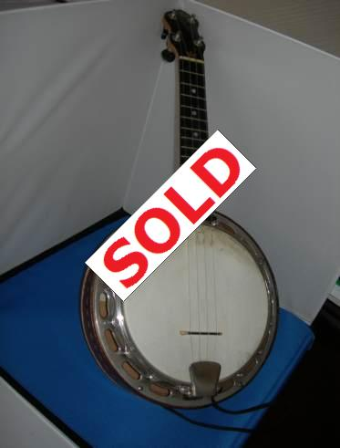 Fred Stevenson Ludwig Wendell Hall replica uke for sale. Picture 1