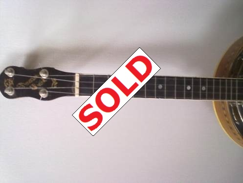Fred Stevenson Ludwig Wendell Hall replica Long Scale uke for sale. Picture 3