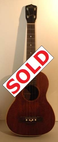 Gibson Tenor wooden ukulele for sale. Picture 1